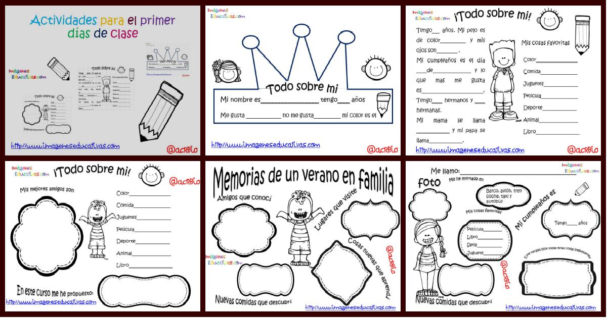 S per divertidas actividades para el primer d a de clase for Actividades para el salon de clases de primaria