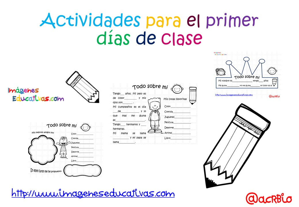 Actividades para los primeros d as de clase 1 imagenes for Actividades para el salon de clases de primaria