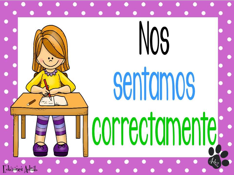 Acuerdos de nuestra clase 11 imagenes educativas for 5 reglas del salon de clases