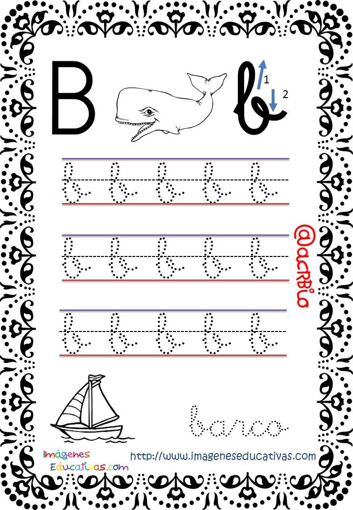 Cuaderno de trazos Imágenes Educativas letra escolar (2