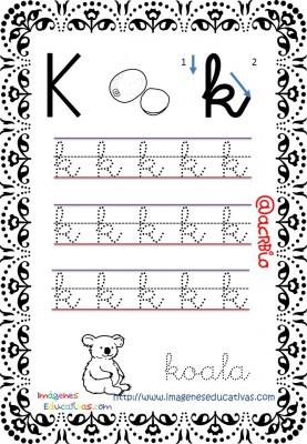 Cuaderno de trazos Imágenes Educativas letra escolar (11)