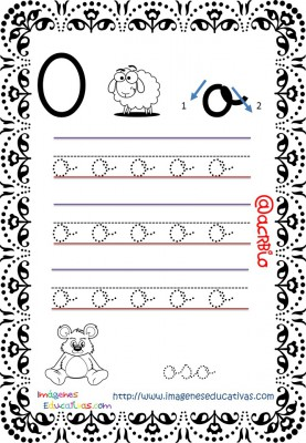 Cuaderno de trazos Imágenes Educativas letra escolar (16)