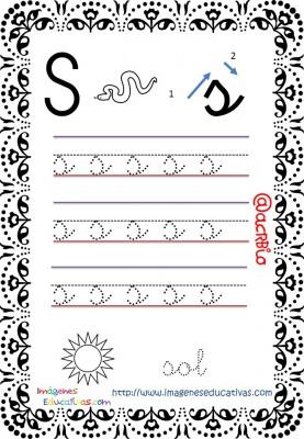 Cuaderno de trazos Imágenes Educativas letra escolar (20)