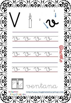 Cuaderno de trazos Imágenes Educativas letra escolar (23)