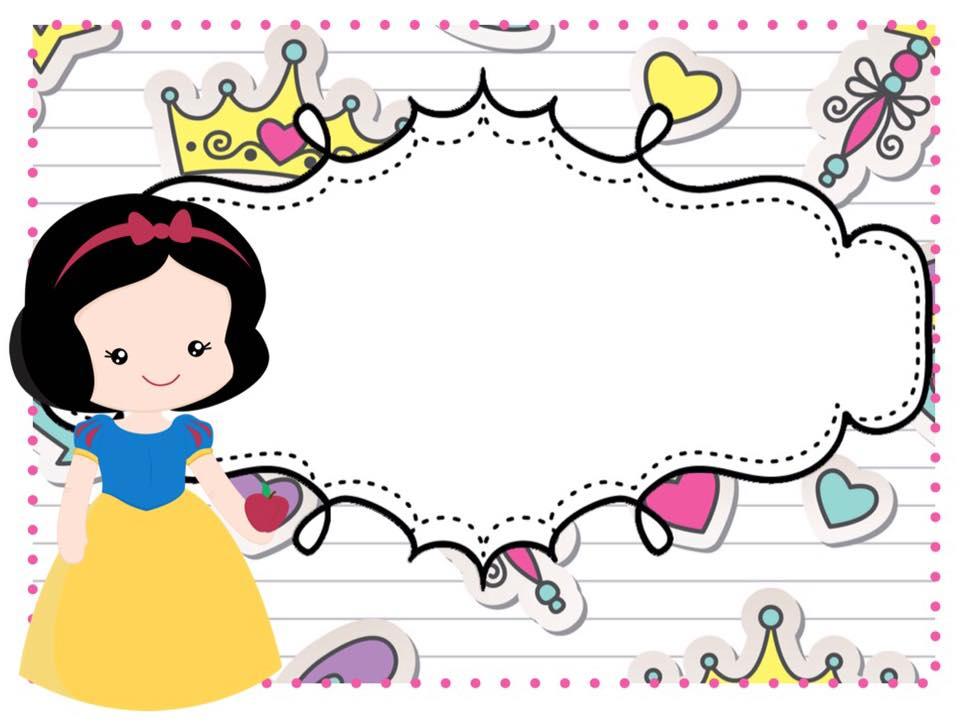 Marcos ni as 7 imagenes educativas - Hojas decoradas para ninas ...