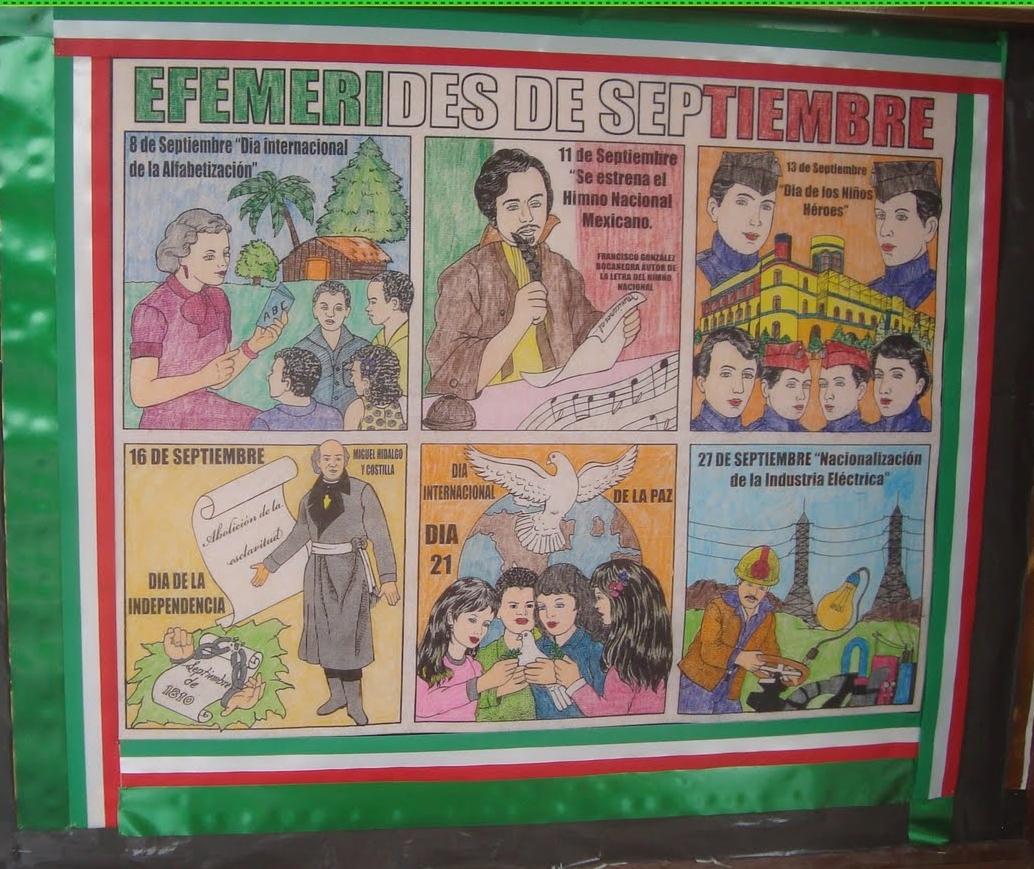 Mural mes de junio nivel primaria for El periodico mural wikipedia