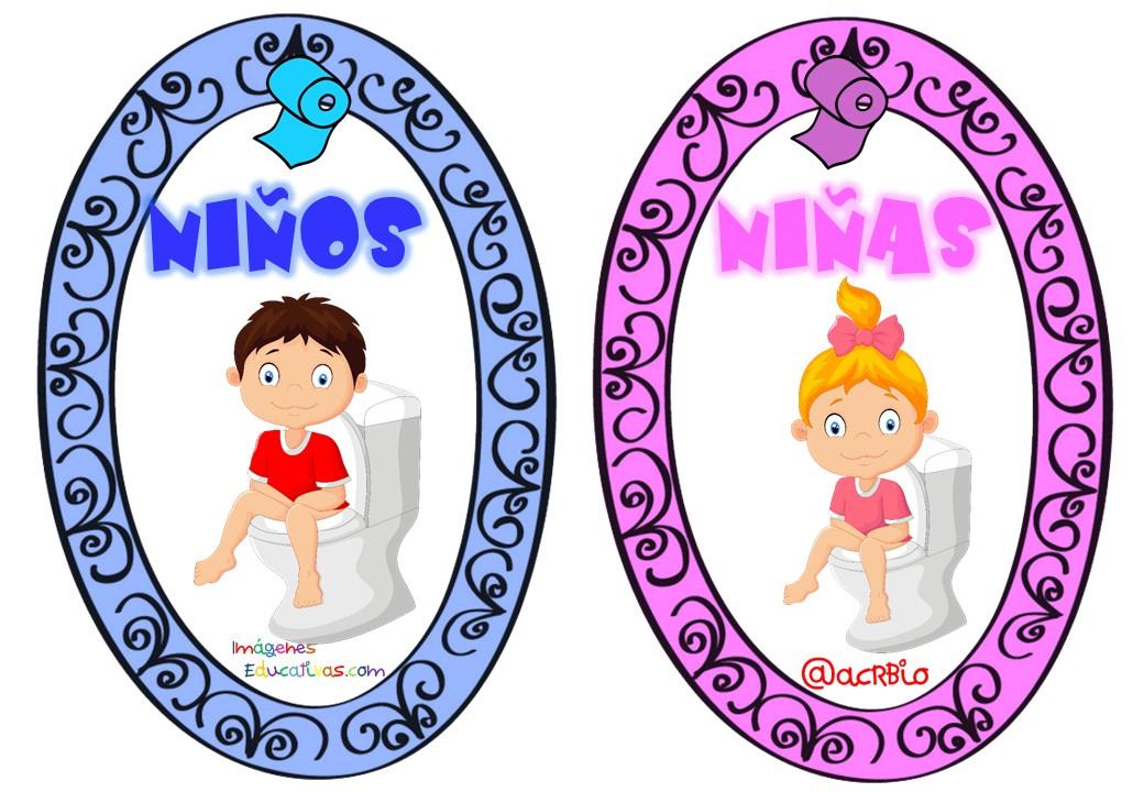 Imagenes De Ir Al Baño Para Ninos:Permisos para ir al baño tarjetas ...