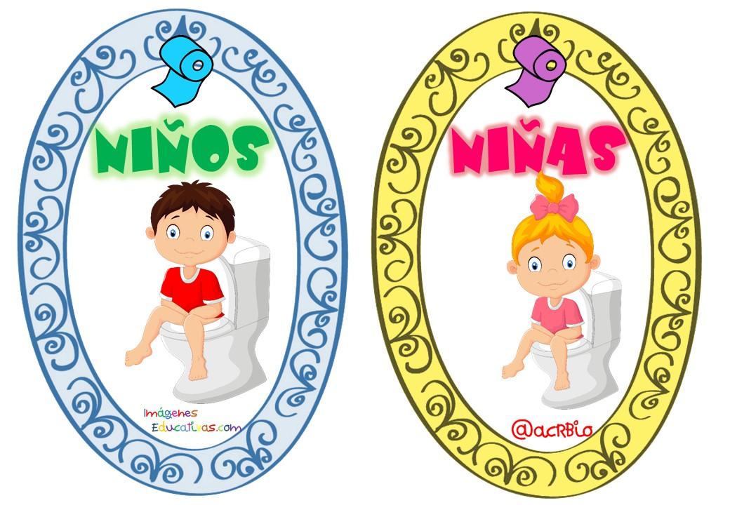 Imagenes De Ir Al Baño Para Ninos:Permisos para ir al baño tarjetas imprimibles (21) – Imagenes