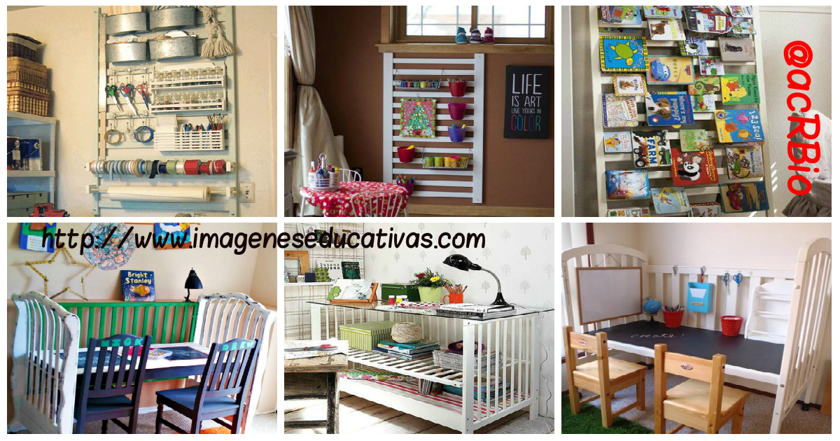 Magnificas ideas para transformar una cuna en parte de t for Como decorar una cuna
