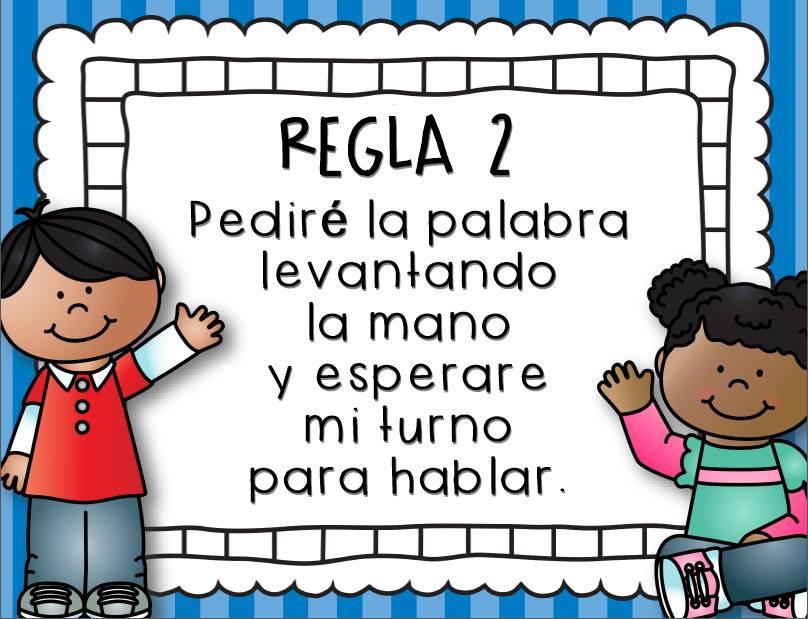 Reglas de clase 4 imagenes educativas for Actividades para el salon de clases de primaria