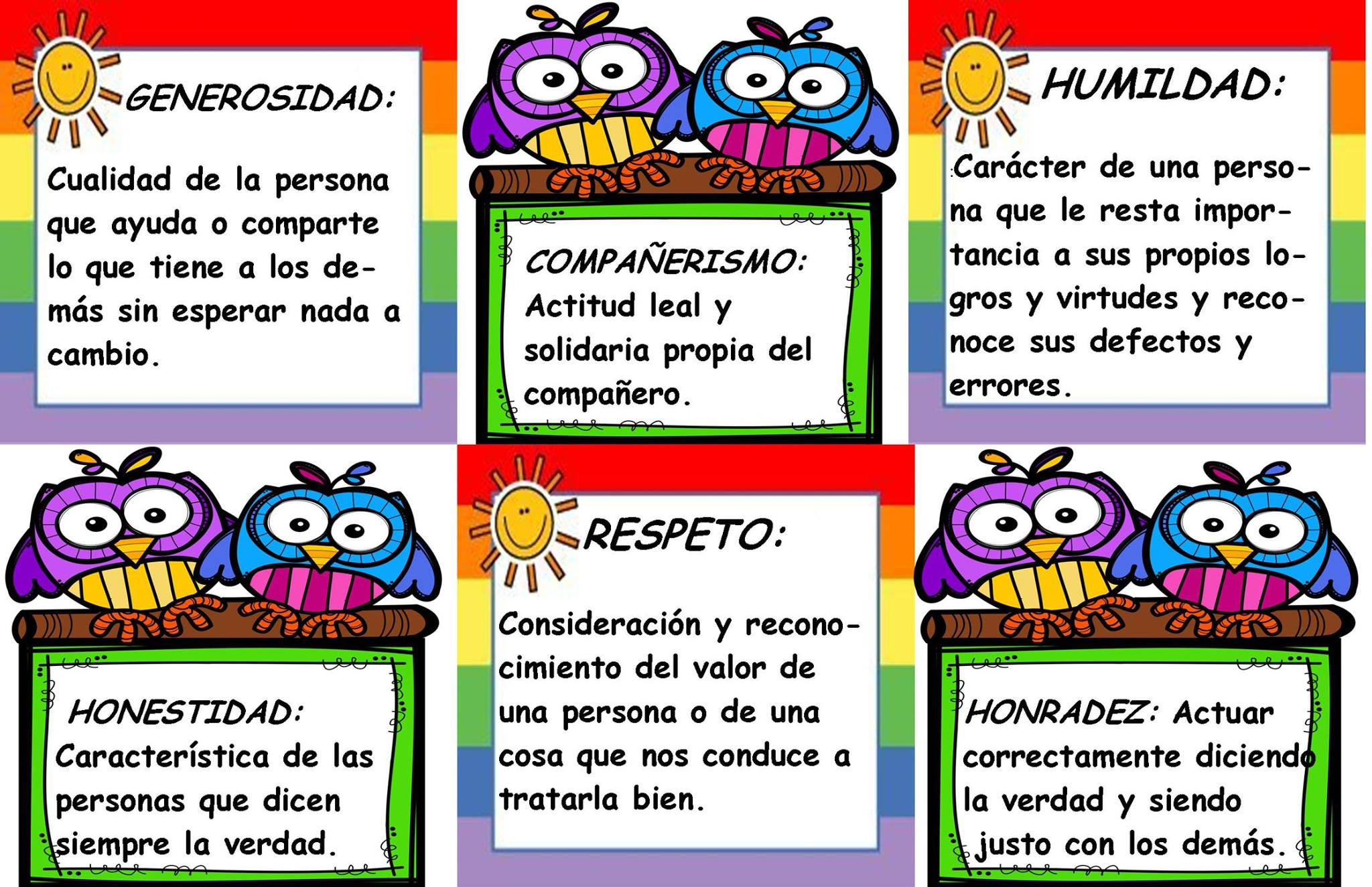 Valores 3 imagenes educativas for Definicion periodico mural