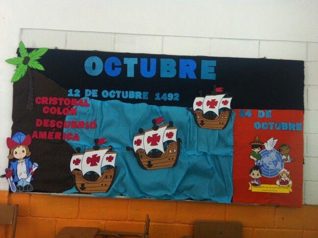 Periodico mural octubre 1 imagenes educativas for Diario mural escolar