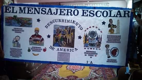 Periodico mural octubre 11 imagenes educativas for Cuales son las partes del periodico mural