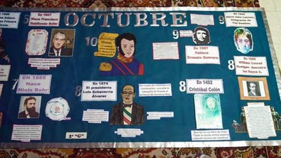 Periodico mural octubre 14 imagenes educativas for Cuales son las partes de un periodico mural