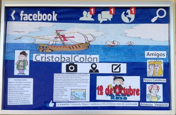 Periodico mural octubre 18 imagenes educativas for Componentes de un periodico mural