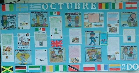 Periodico mural octubre 19 imagenes educativas for Componentes de un periodico mural