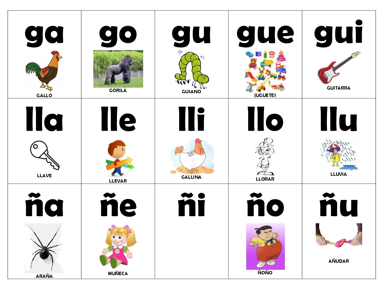 Tarjetas sílabas 2 (2) - Imagenes Educativas