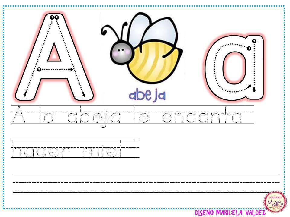 ABECEDARIO aprendemos a escribir (3) - Imagenes Educativas
