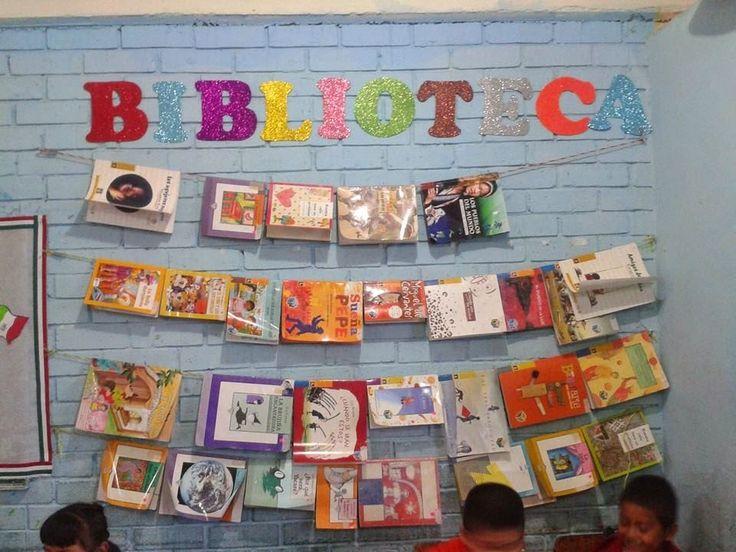 Biblioteca de aula o sal n 17 imagenes educativas for Como hacer un proyecto de comedor infantil