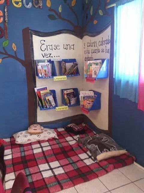 Biblioteca de aula o sal n 7 imagenes educativas for Requisitos para abrir una guarderia