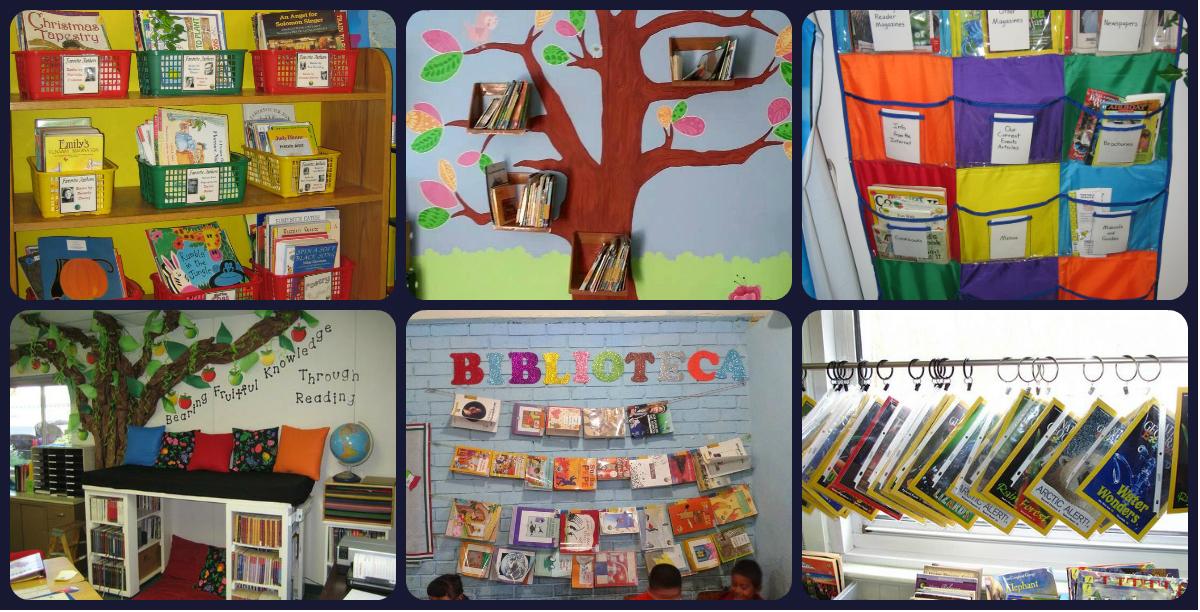 20 ideas para decorar montar y preparar tu biblioteca de for Grado medio jardin de infancia