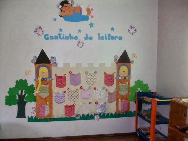 Biblioteca de aula o sal n 11 imagenes educativas - Estanteria biblioteca infantil ...