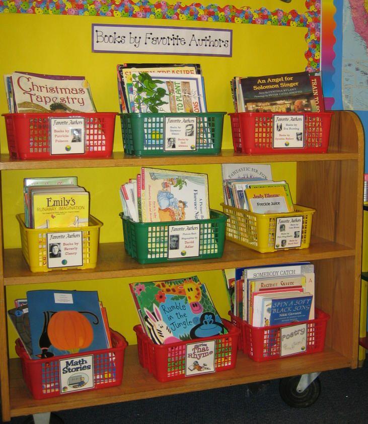 decorar sala de kinder : decorar sala de kinder:Book Classroom Library Organization