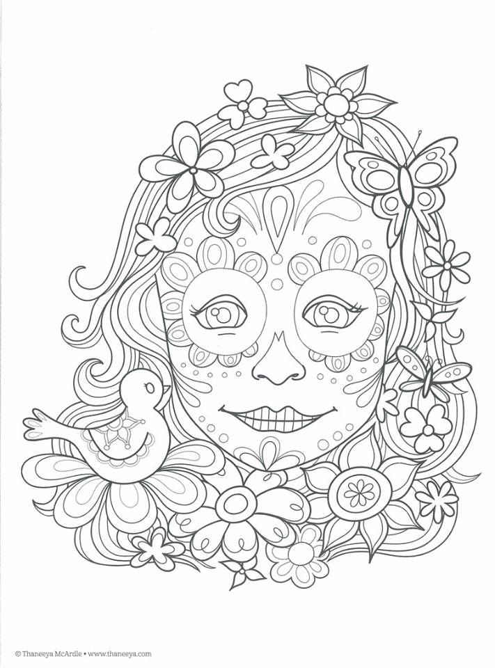 dibujos para colorear ninas 10 anos