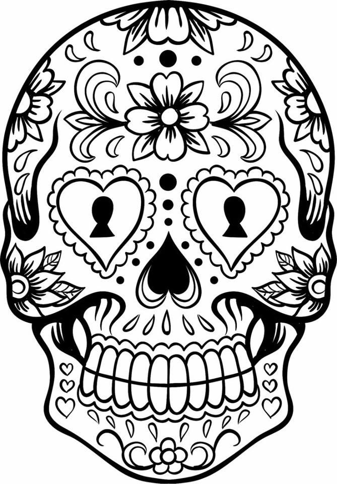 Dibujos Para Colorear El D 237 A De Los Muertos 7 Imagenes Educativas