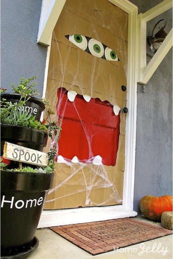 Halloween puertas 2 imagenes educativas for Imagenes puertas decoradas halloween