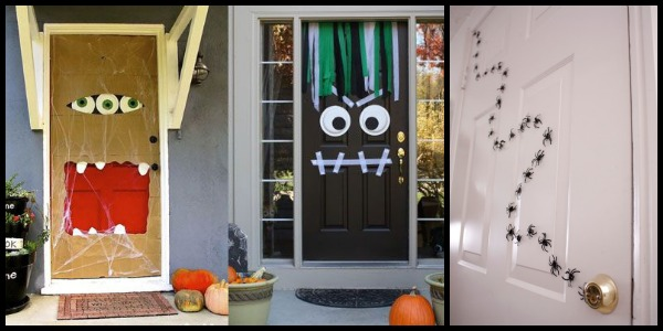 Halloween puertas 26 imagenes educativas for Puertas de halloween decoradas