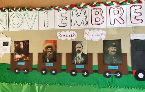 Periodico mural noviembre 10 imagenes educativas for Diario mural en ingles