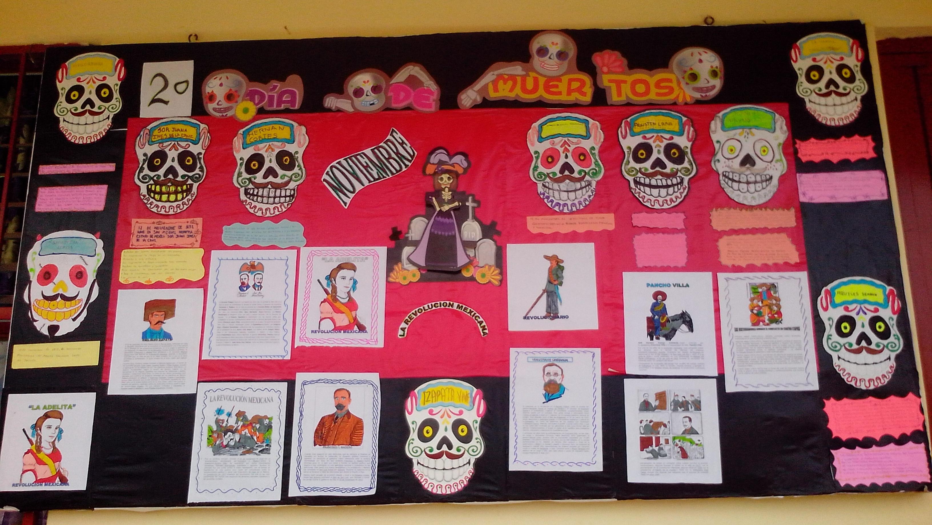 Periodico mural noviembre 8 imagenes educativas for Componentes de un periodico mural