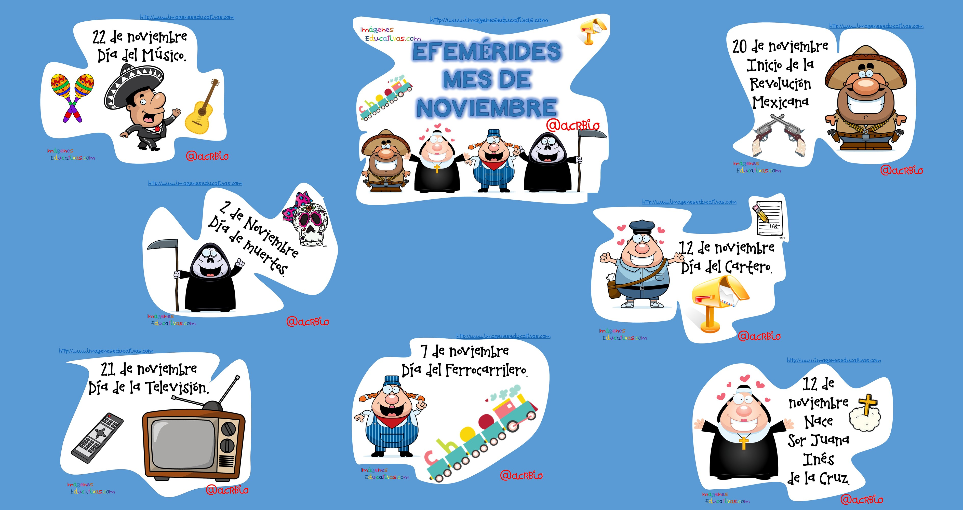 Periodico mural noviembre - Imagenes Educativas
