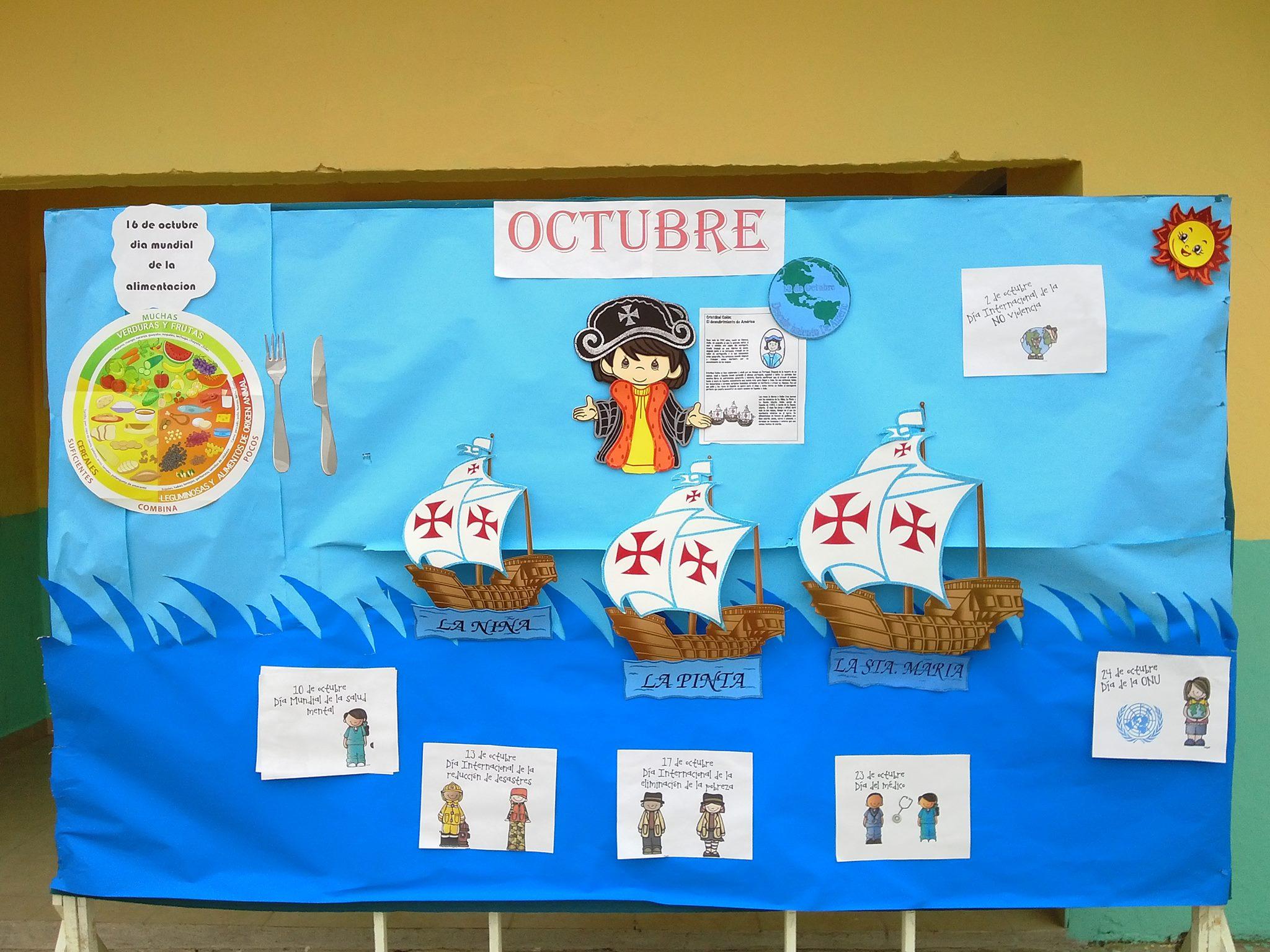 Periodico mural octubre vuestras propuestas 5 imagenes for Diario mural en ingles