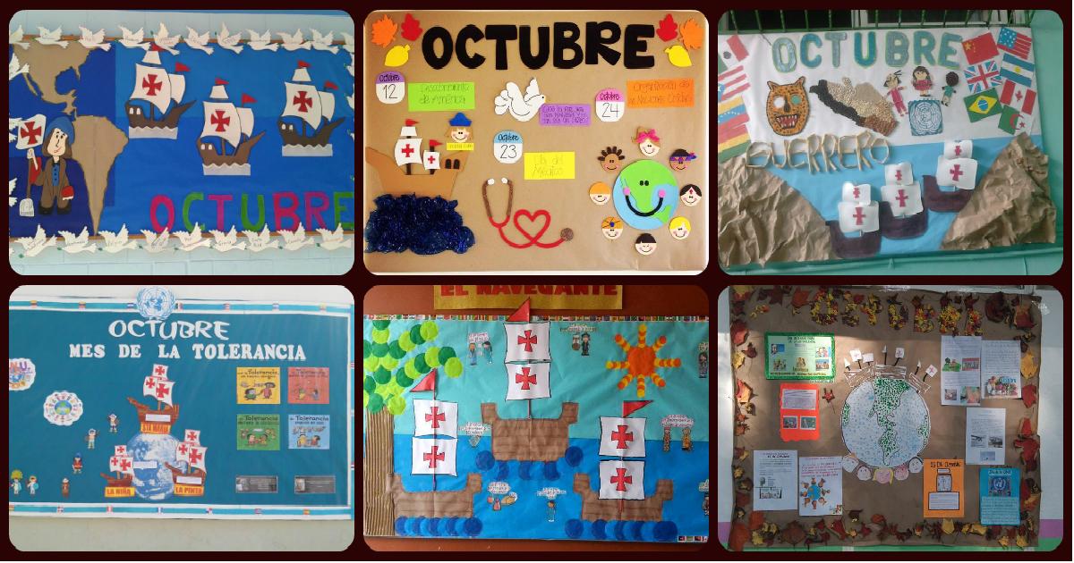 Estupendas ideas para el peri dico mural del mes de for Como elaborar un periodico mural