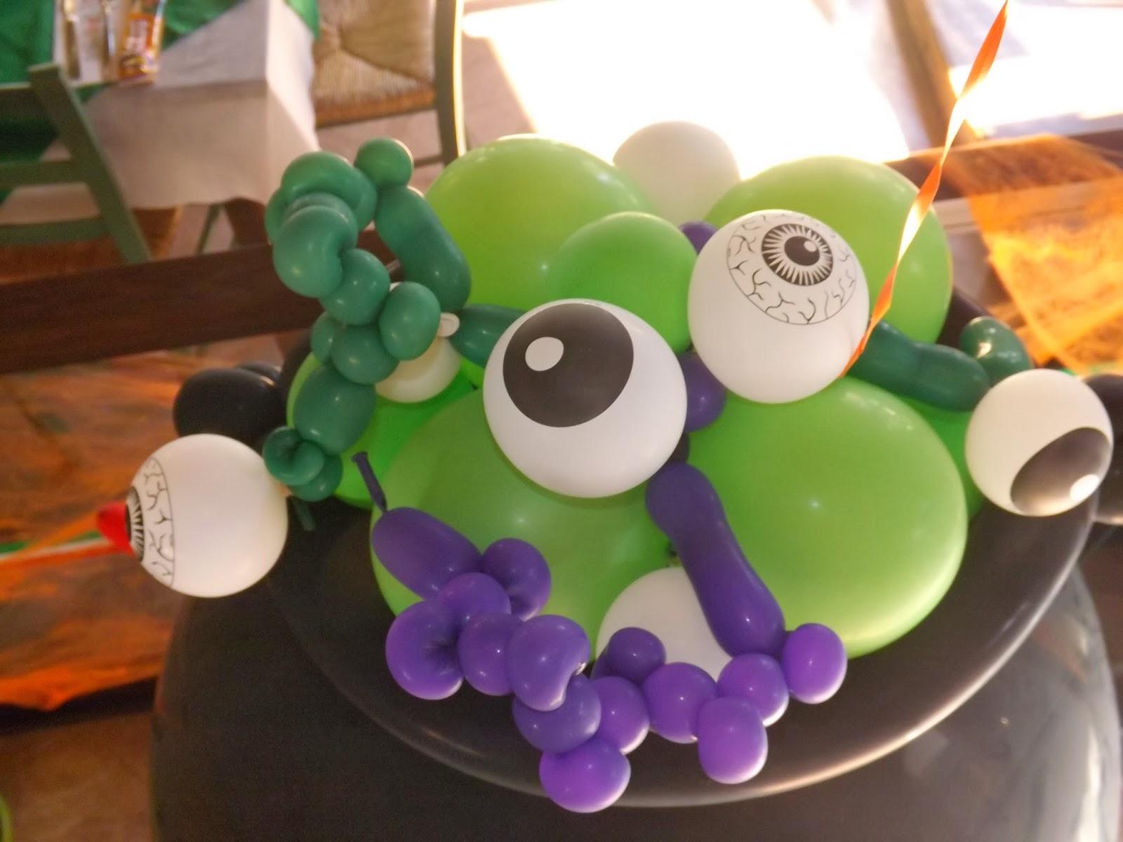 Ideas para decorar con globos para ni os halloween 20 - Bombas para decorar ...