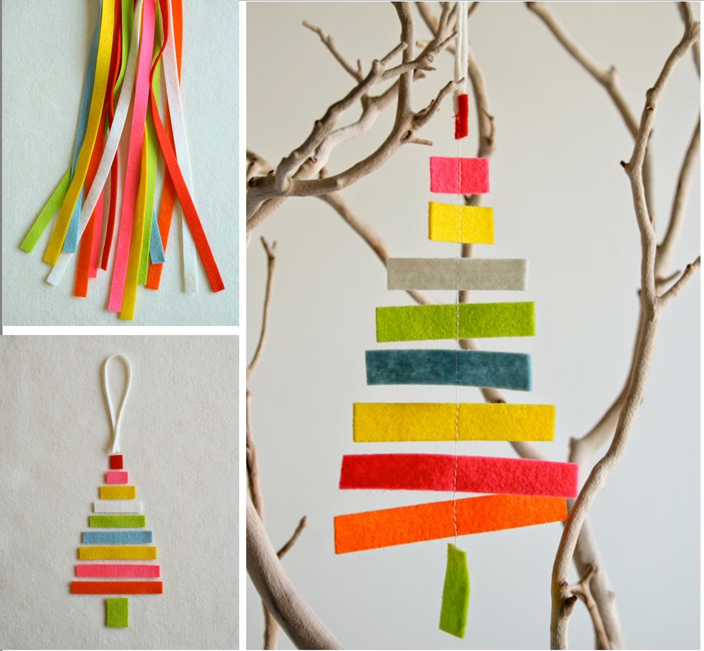 Adornos arbol de navidad manualidades diy 1 imagenes for Cosas para hacer de navidad faciles