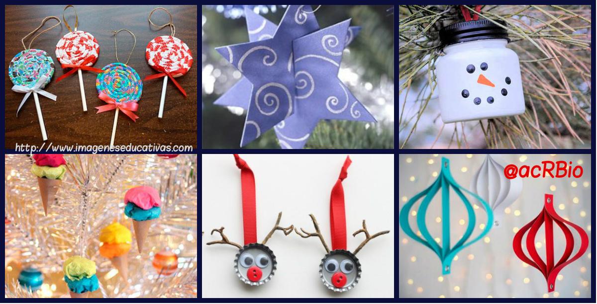 Adornos para nuestro rbol de navidad ideales para hacer - Adornos navidenos para hacer con ninos ...