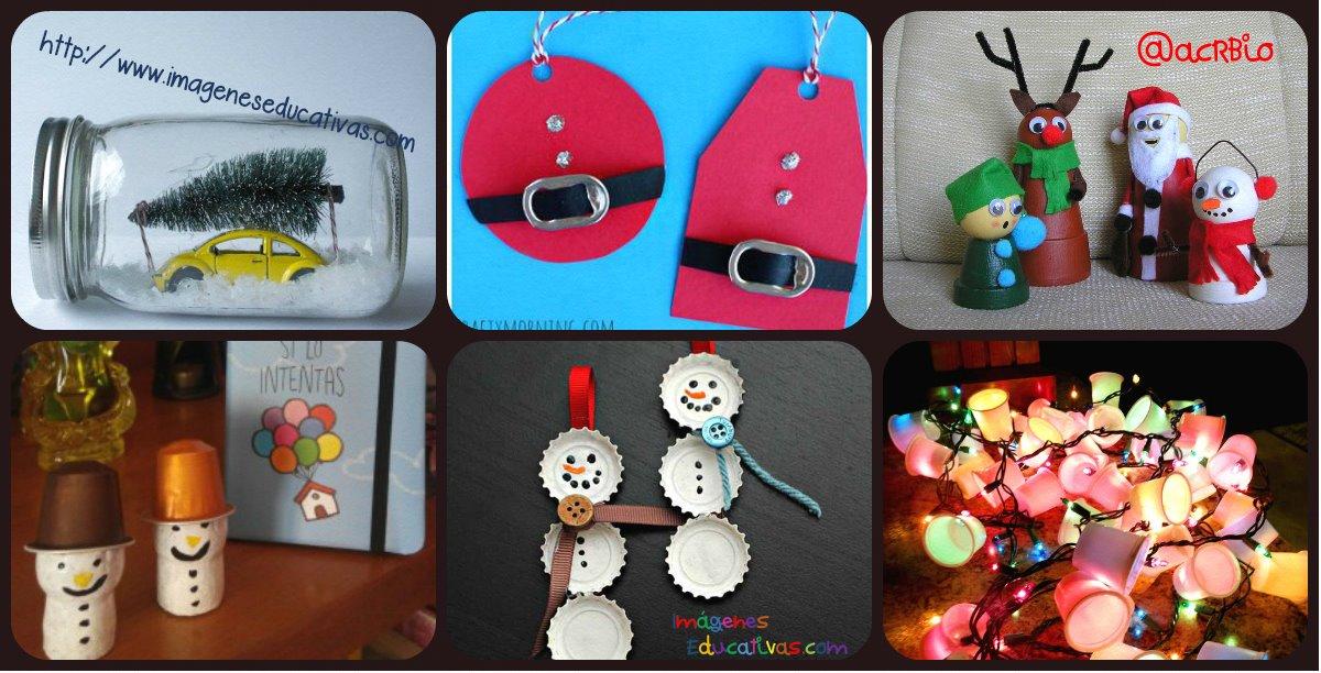 Nuevos diseos 2015 rboles de Navidad con materiales reciclados