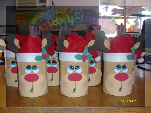 Baños Decorados Navidenos:Dulceros De Navidad