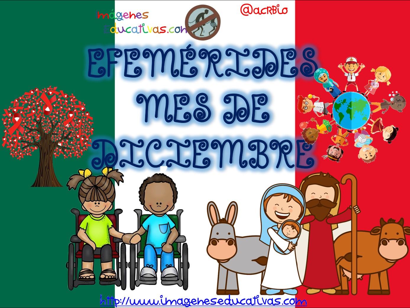 Plastilina Y Lápiz 20 De Noviembre Día De Los Derechos: Efemérides Mes De Diciembre Fondo Mexico (1)