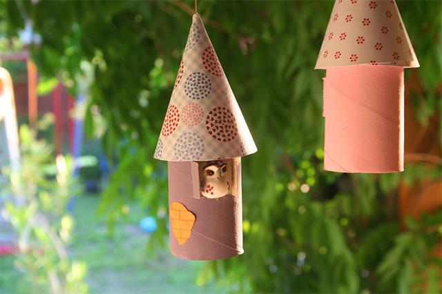 Manualidades navidad rollos papel 21 imagenes educativas - Manualidades de navidad con papel ...