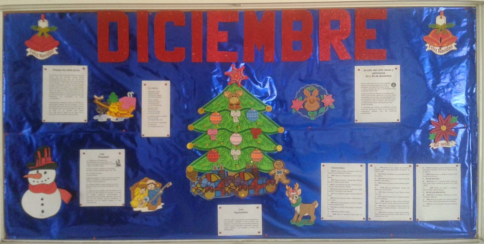 Periodico mural diciembre 2 imagenes educativas for Como decorar un mural