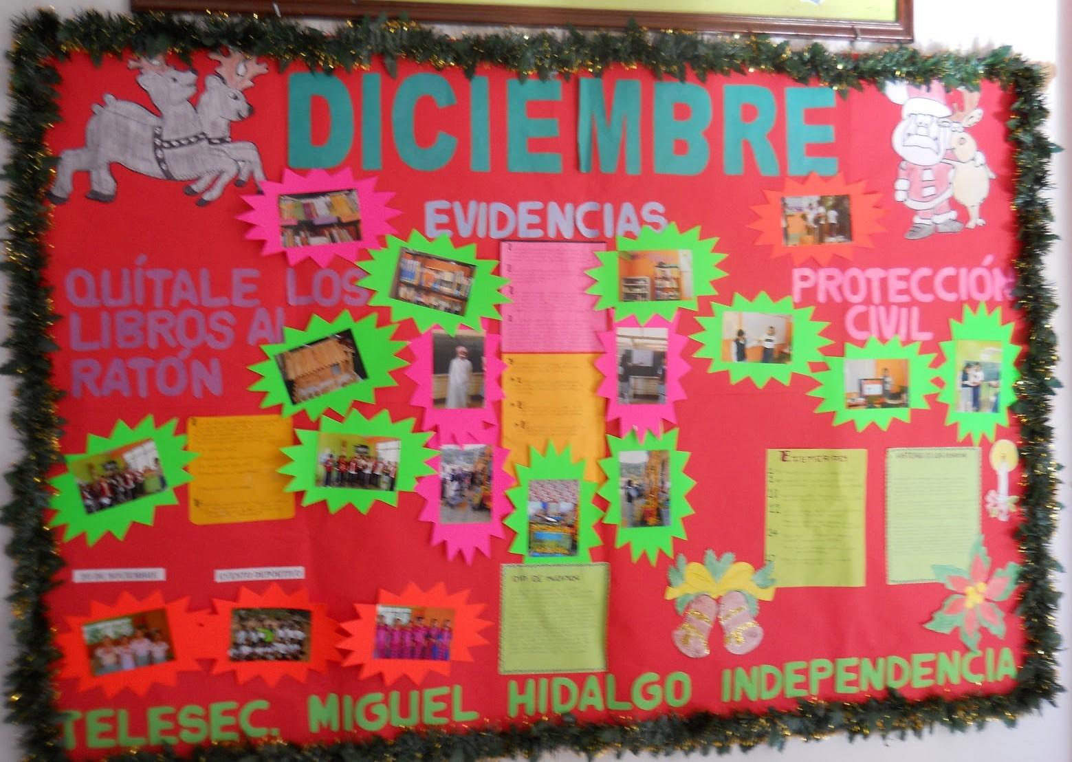 Periodico mural diciembre 6 imagenes educativas for Como elaborar un periodico mural