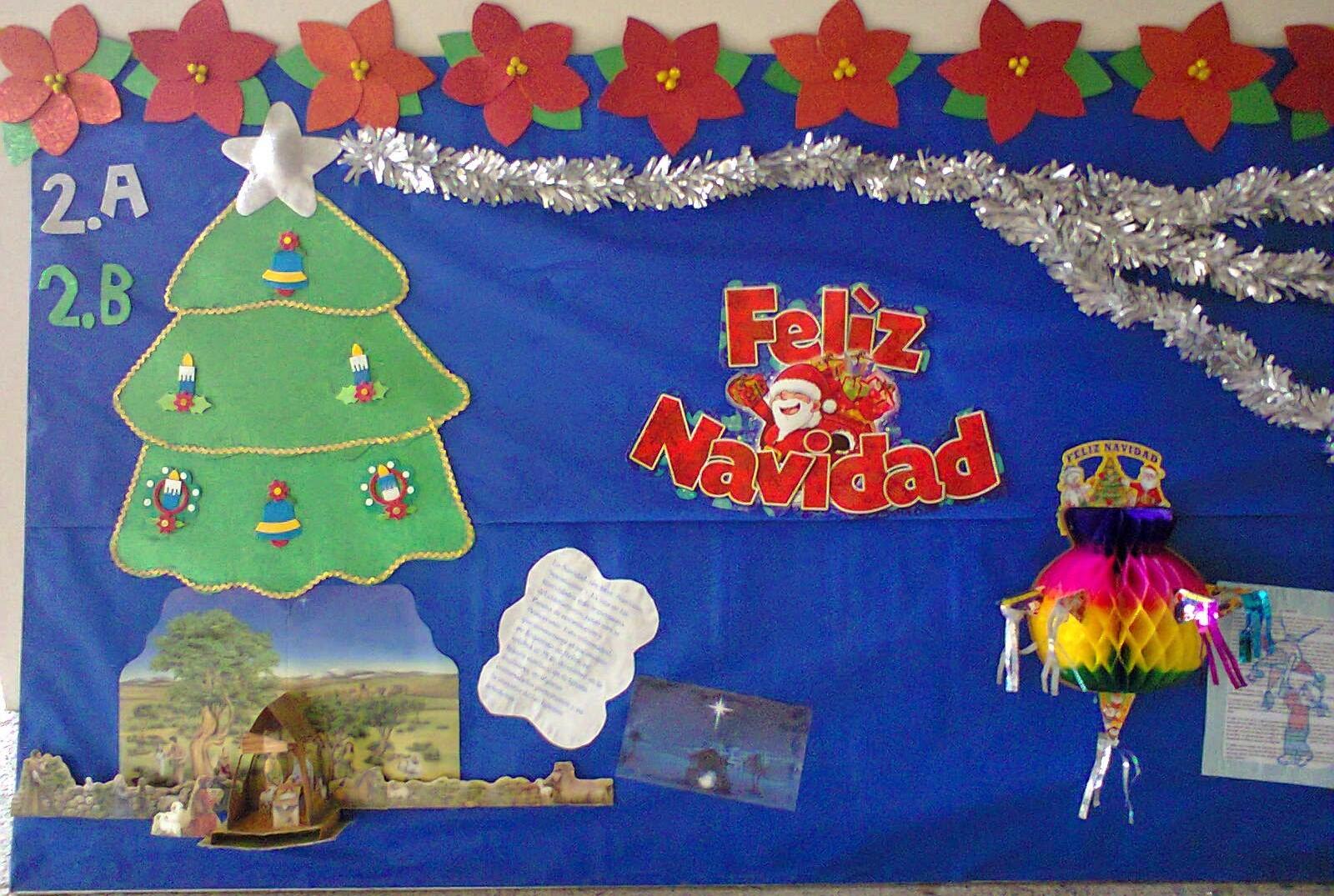 Periodico mural diciembre 7 imagenes educativas - Mural navidad infantil ...