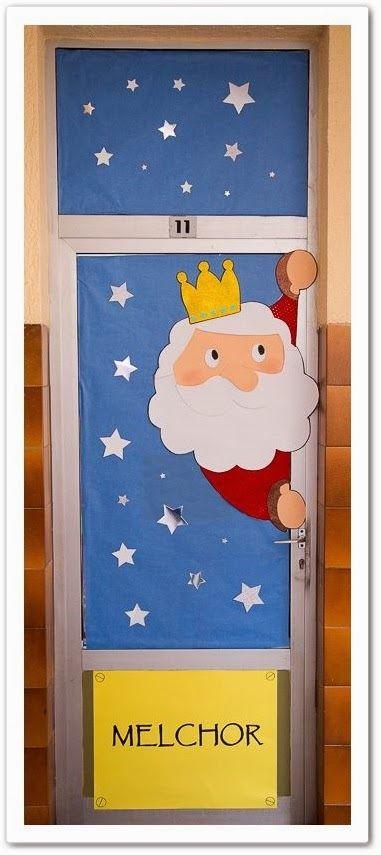 Puertas navidad 5 imagenes educativas for Puertas decoradas navidad material reciclable