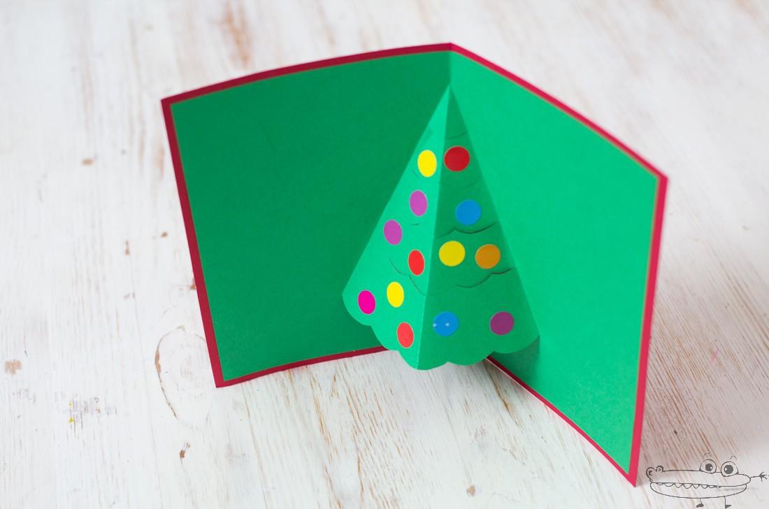 Tarjetas de navidad 13 imagenes educativas for Tarjetas de navidad hechas por ninos