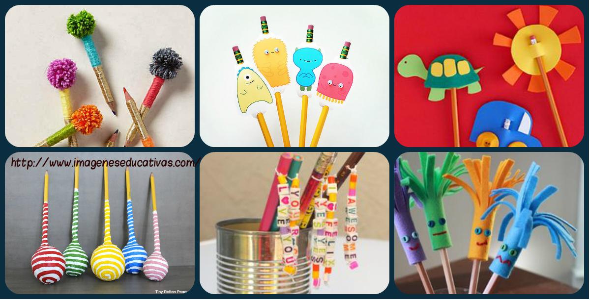Más de 30 Nuevos Adornos para nuestros lápices favoritos
