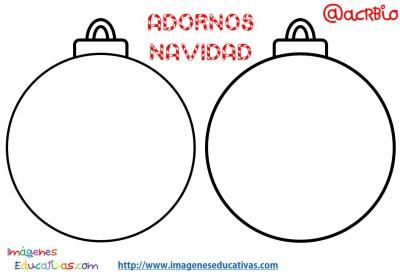 S per colecci n de bolas de navidad para colorear totalmente originales imagenes educativas - Fotos de bolas de navidad ...